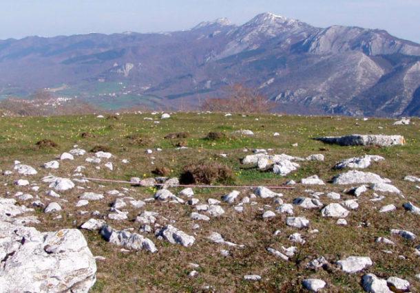 Álava quiere recuperar el Parque Megalítico de Legaire