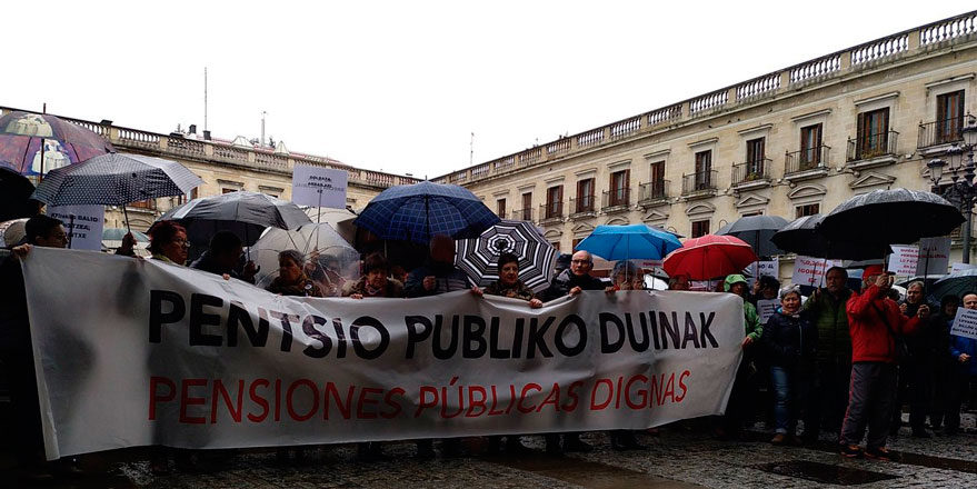protesta pensiones vitoria