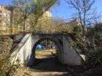 tirolina puente parque arriaga