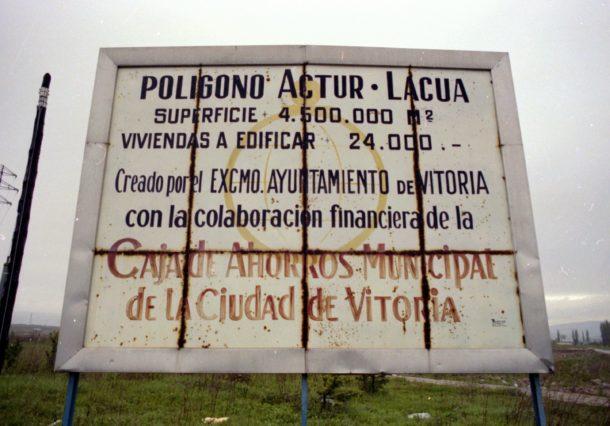 """Actur-Lacua: la """"nueva ciudad"""" proyectada en Vitoria entre Gamarra y Ali-Gobeo"""