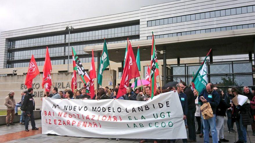 lanbide rgi sindicatos