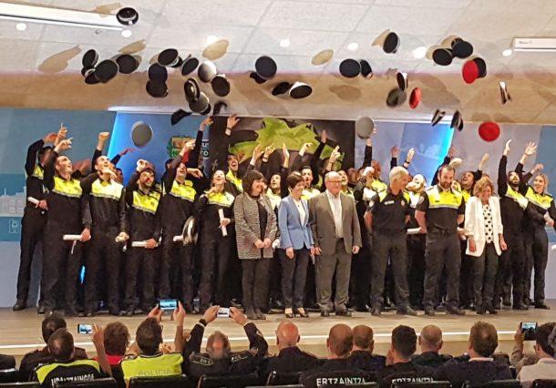 Los nuevos policías locales saldrán a patrullar el 4 de junio