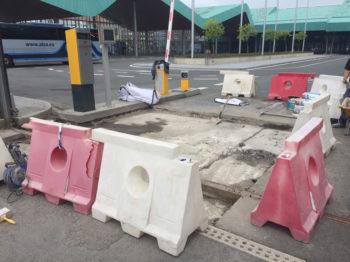El ayuntamiento quiere reparar de una vez los continuos baches de la Estación de Autobuses