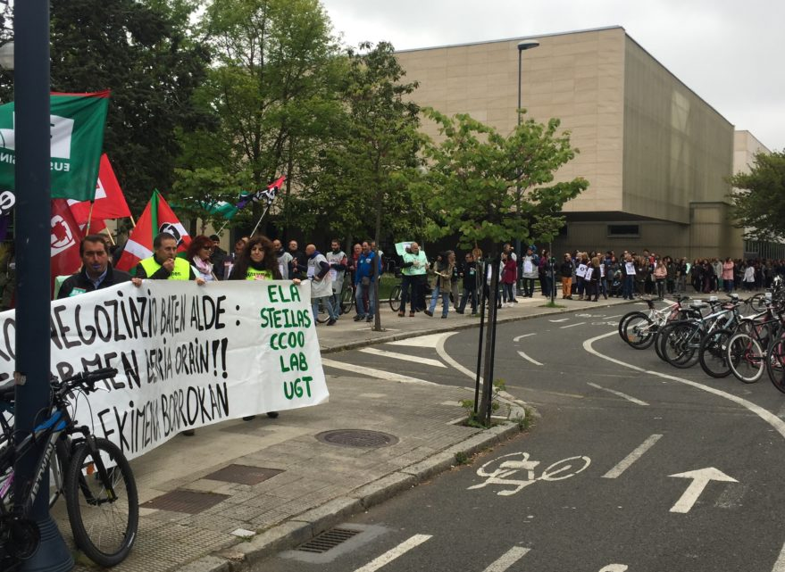 huelga concertados religiosos euskadi abril