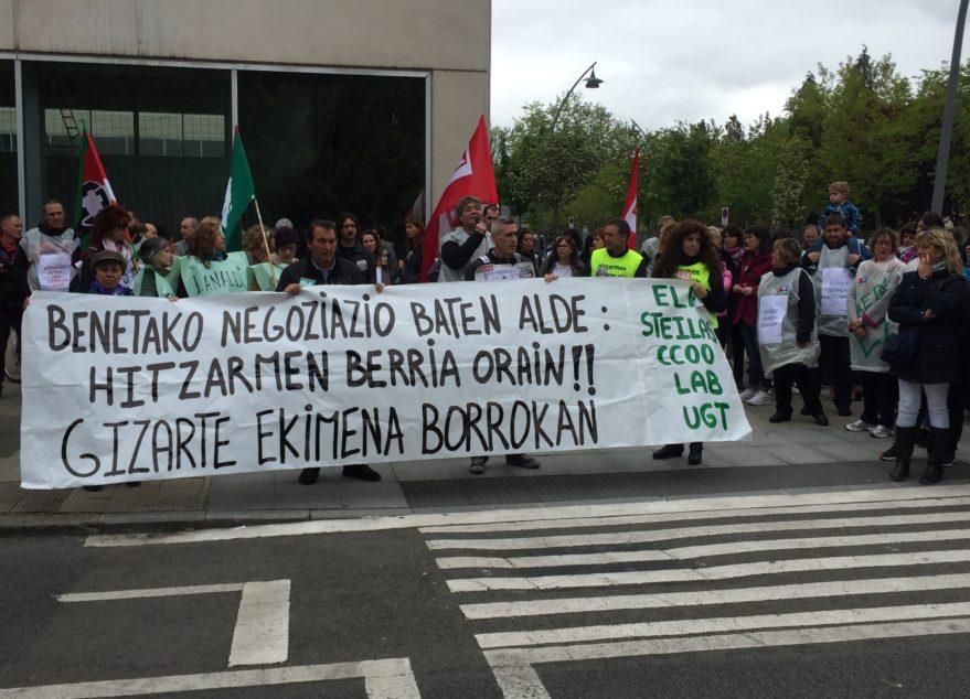 huelga escuela concertada marzo 2018