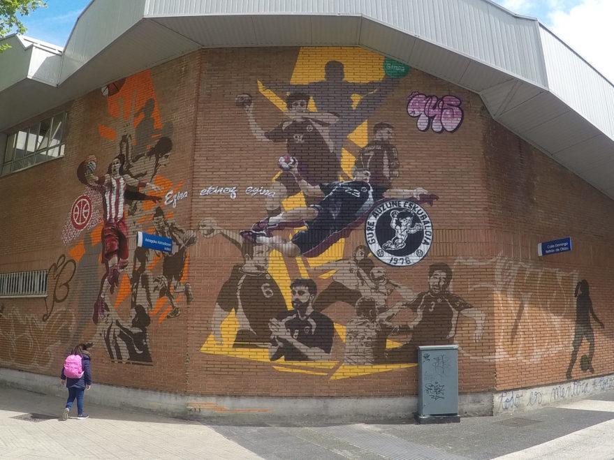 mural divino maestro gure araba