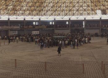 interior de la Plaza del Ganado