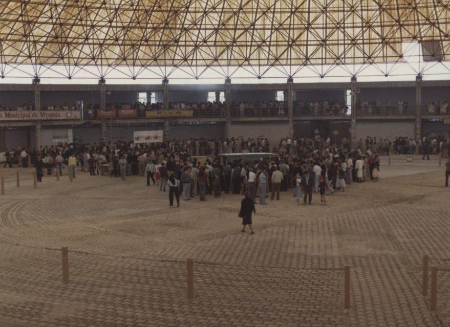 De Plaza del Ganado a sede de la Final Four: la historia del Buesa Arena