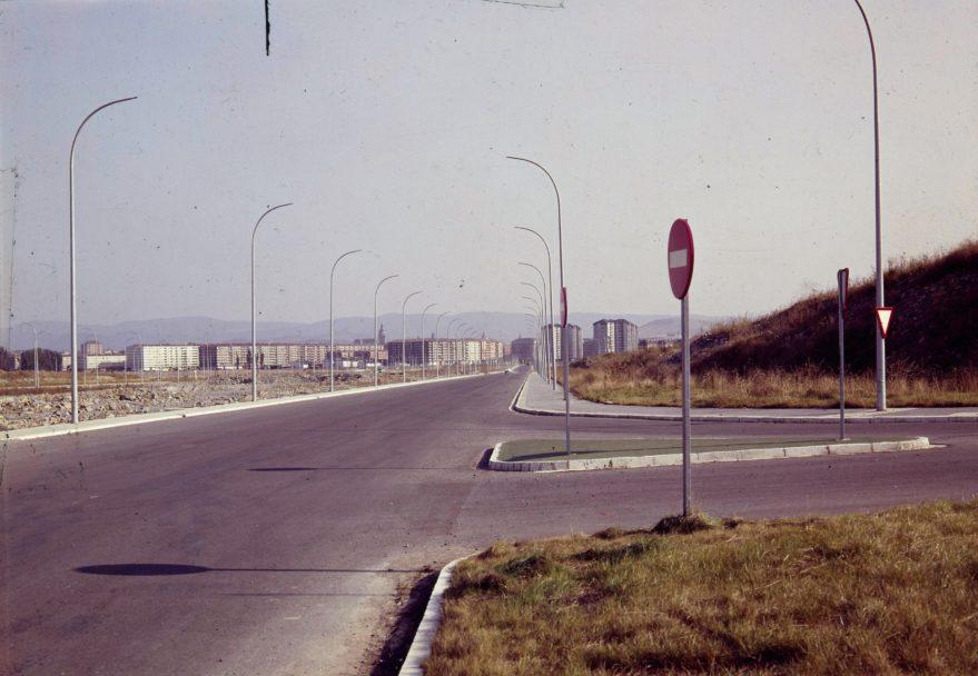 Portal de Foronda a finales de la década de los setenta. Fundación Sancho el Sabio.