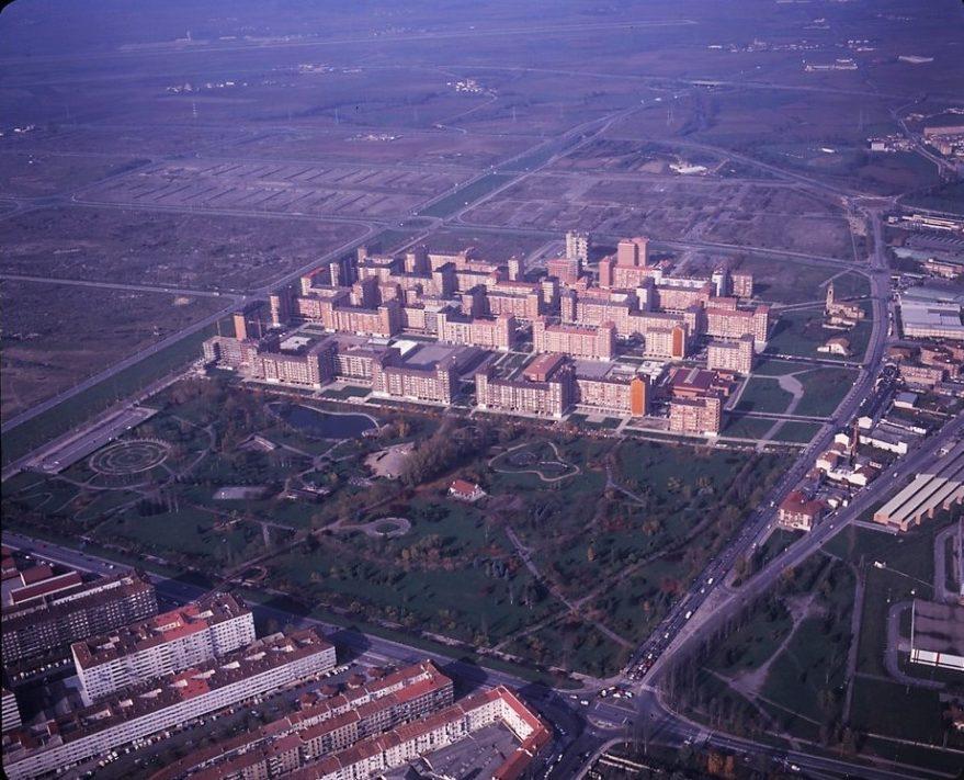 Parque de Arriaga a principios de la década de los 90. CC BY-NC 4.0 2015/KUTXATEKA/Fondo Javier Gallego/Autor Pello López.