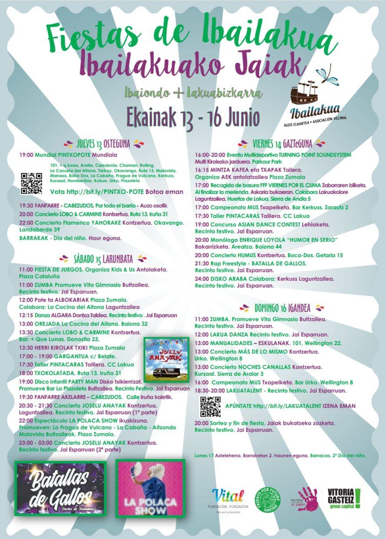 Fiestas Ibailakua 2019