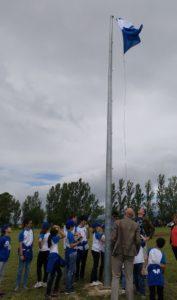 bandera azul elburgo