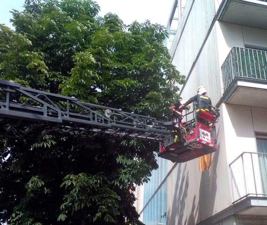 bomberos placas