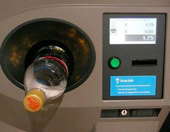 envase retornable máquina