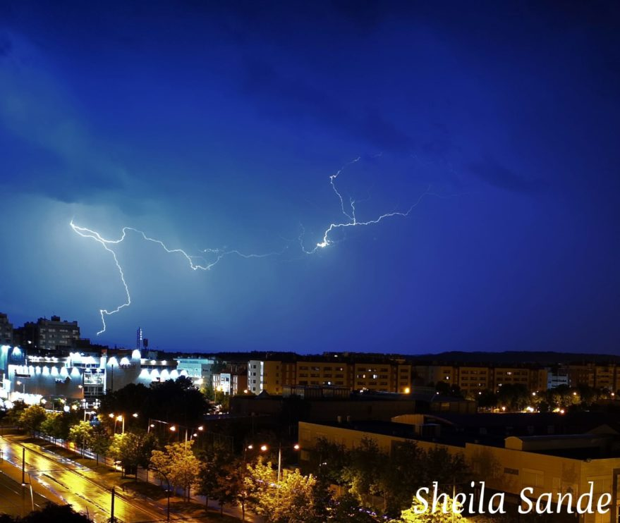 tormenta vitoria sheila sande