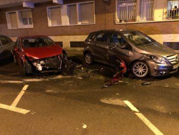 accidente calle san viator