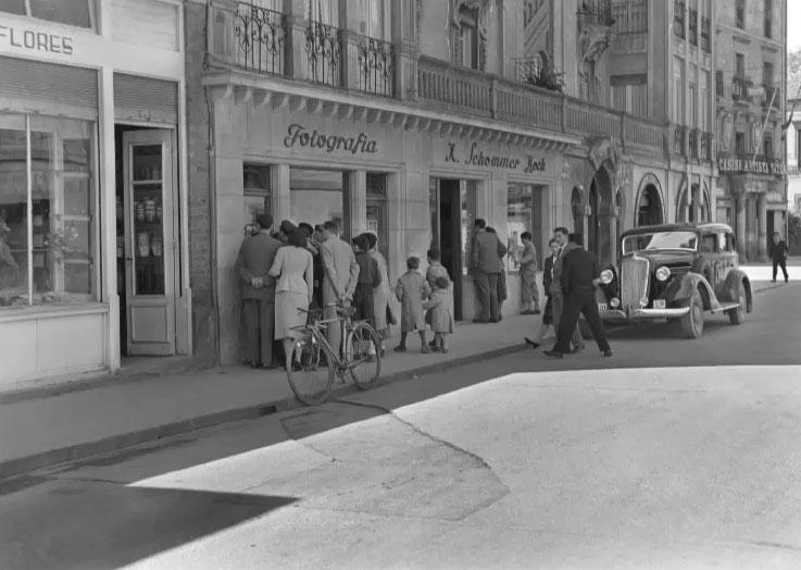 Una exposición repasa en fotos la historia de Vitoria-Gasteiz