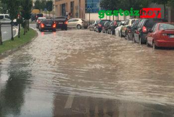 inundacion en Zabalgana