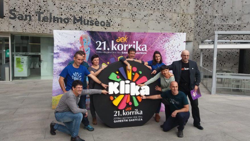 Korrika 2019 concluirá en Vitoria-Gasteiz