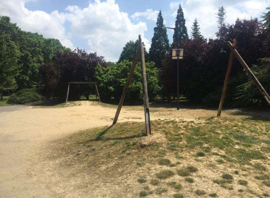 desperfectos parque arriaga