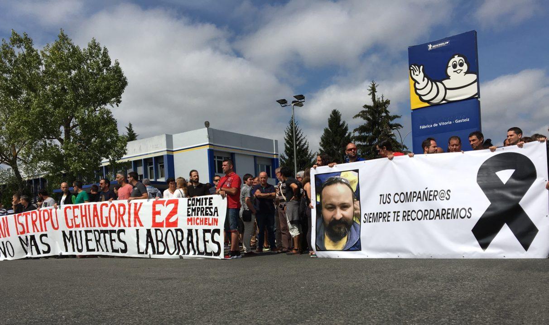 Paro de 24 horas en Michelin tras la última muerte en accidente laboral | Gasteiz Hoy