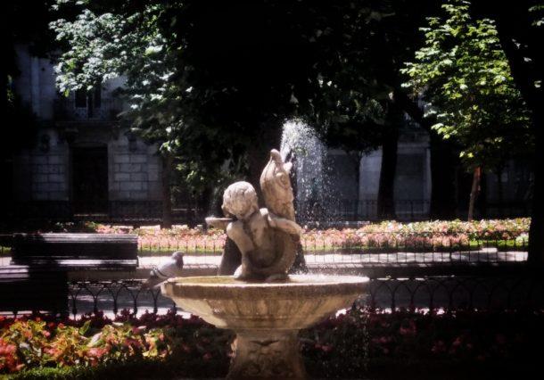 Fuentes ornamentales para refrescar Vitoria-Gasteiz