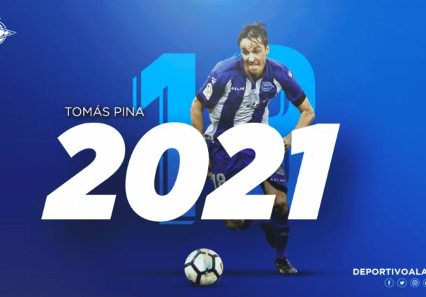 Tomás Pina regresa al Alavés