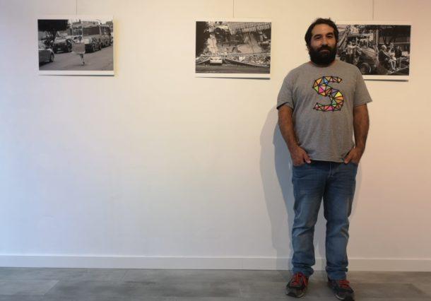 El fotógrafo vitoriano Uraitz Soubies repasa en una exposición el terremoto de Mexico