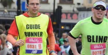 Víctor corriendo Maratón