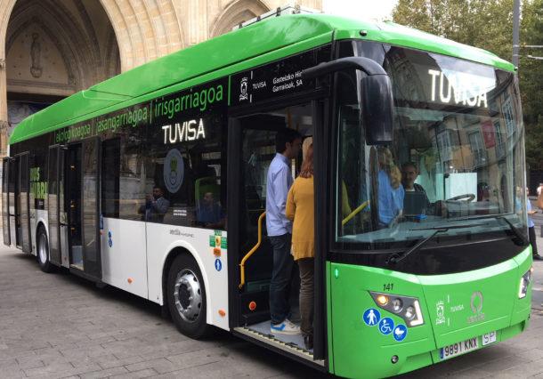 Los nuevos buses híbridos de Tuvisa fallan en su estreno