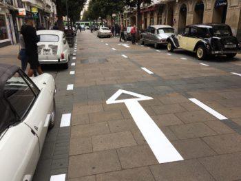 despeatonalización calle dato