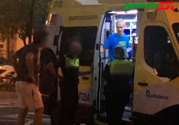 Martín Fiz sufre un atropello en un paso de peatones