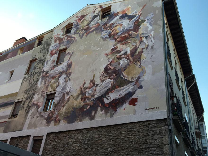 mural san francisco javier