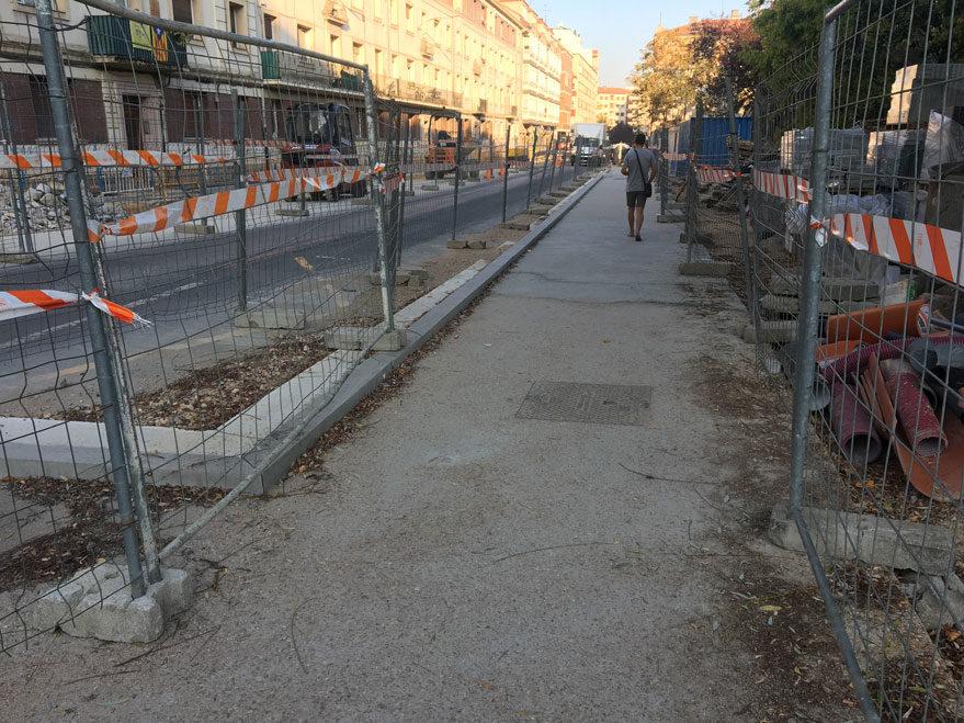 obras calle san ignacio vitoria