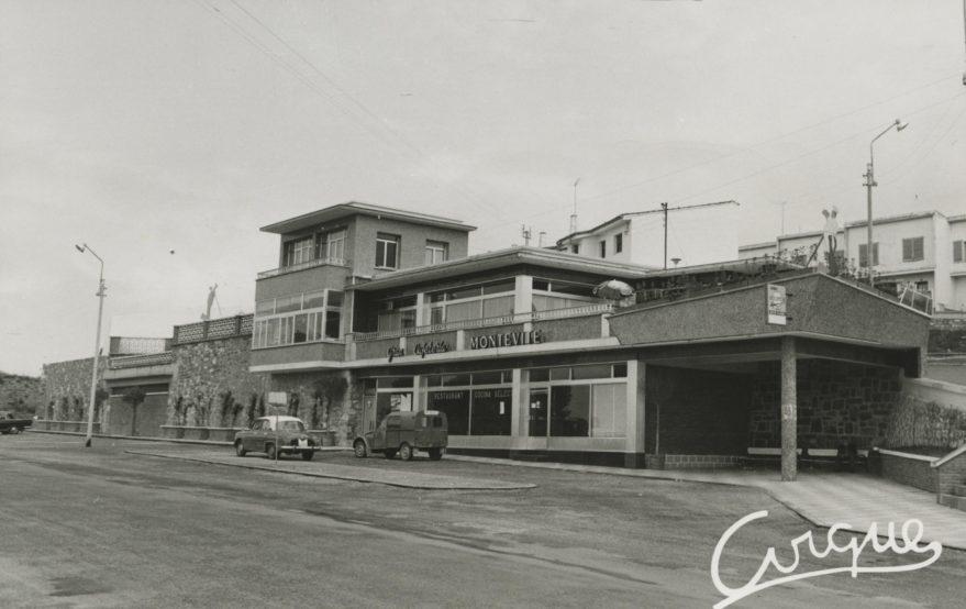 Cafetería Montevite en 1966. Fondo Fundación Sancho el Sabio.