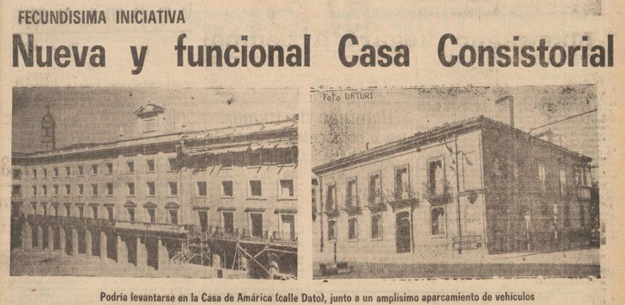 Pensamiento alavés del 30 de marzo de 1966. Fondo Liburuklik.