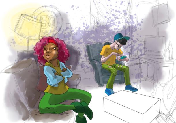Las relaciones de pareja y la sexualidad protagonistas de una serie de cómics juveniles