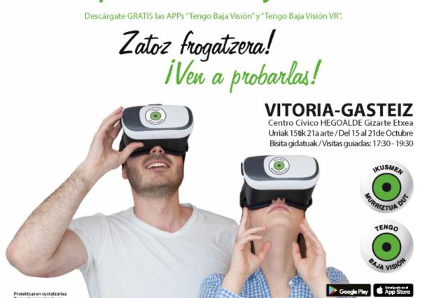 Experimenta la baja visión con unas gafas de realidad virtual