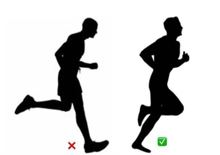 técnica óptima al correr