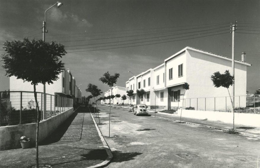 Aspecto de Abetxuko en 1961. Fondo Fundación Sancho el Sabio.