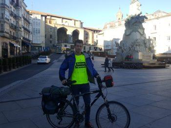 Vitoria Ruben Alonso Africa bicicleta