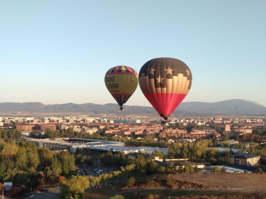 23 globos aerostáticos participan en la I Regata de Vitoria-Gasteiz