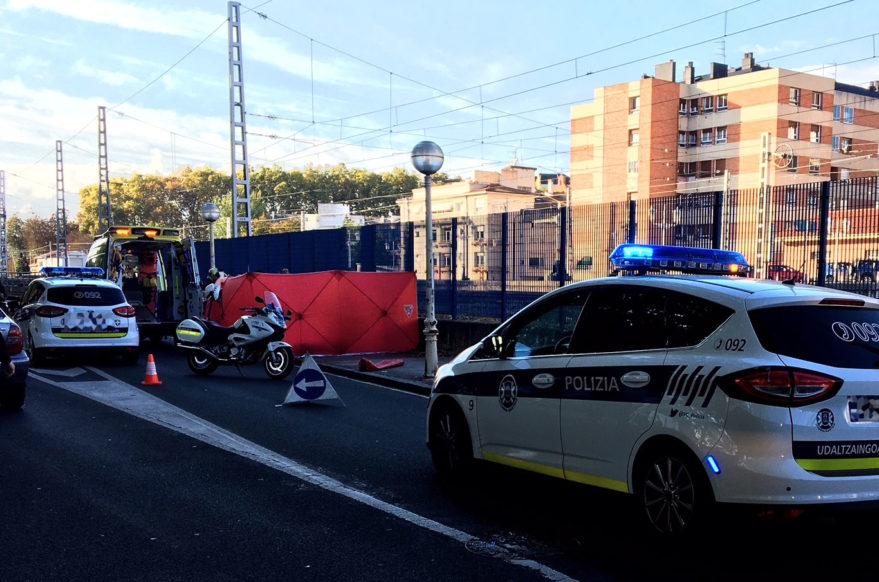 accidente campus universitario