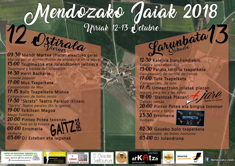 Fiestas Mendoza 2018