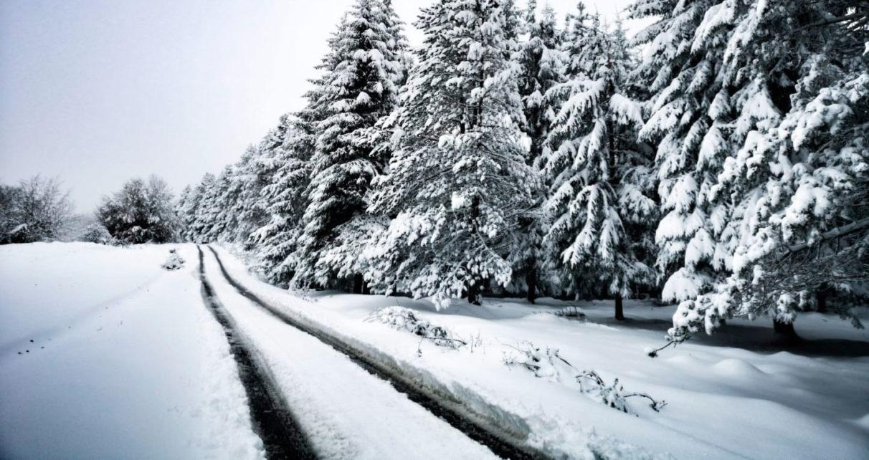 El Temporal Deja Nieve En Los Montes De Álava