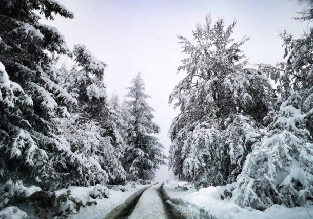 Álava se prepara para una semana de lluvia y nieve