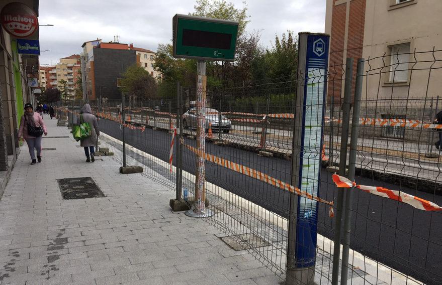 reforma Calle San Ignacio para autobus