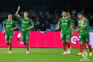 El Alavés sigue sumando en Balaídos y se mantiene en puestos de Champions