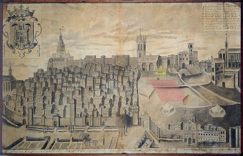 mapa Ciudad Vitoria Olaguibel