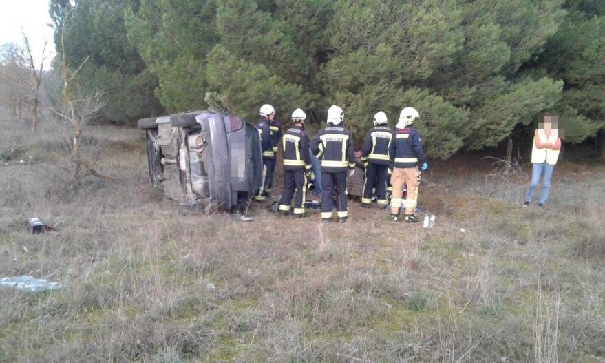 Accidente bomberos
